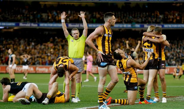 Free kick Hawthorn? Take a look at the stats