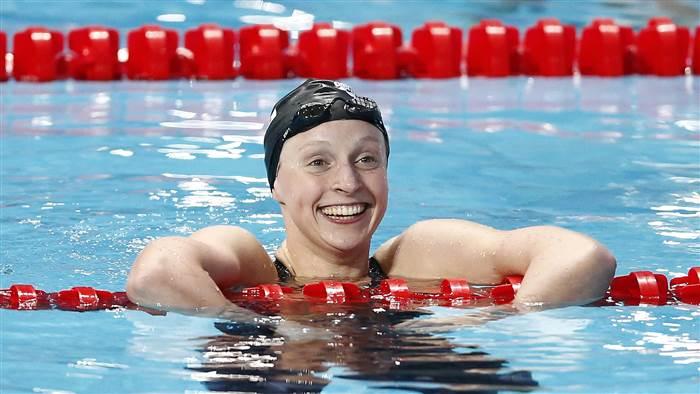 Katie Ledecky Wins in the Most Katie LedeckyWay