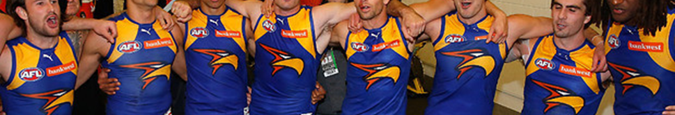 West Coast Eagles New Jersey Design Leaked